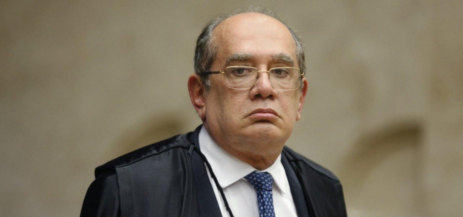 Gilmar Mendes libera investigação sobre Flávio Bolsonaro