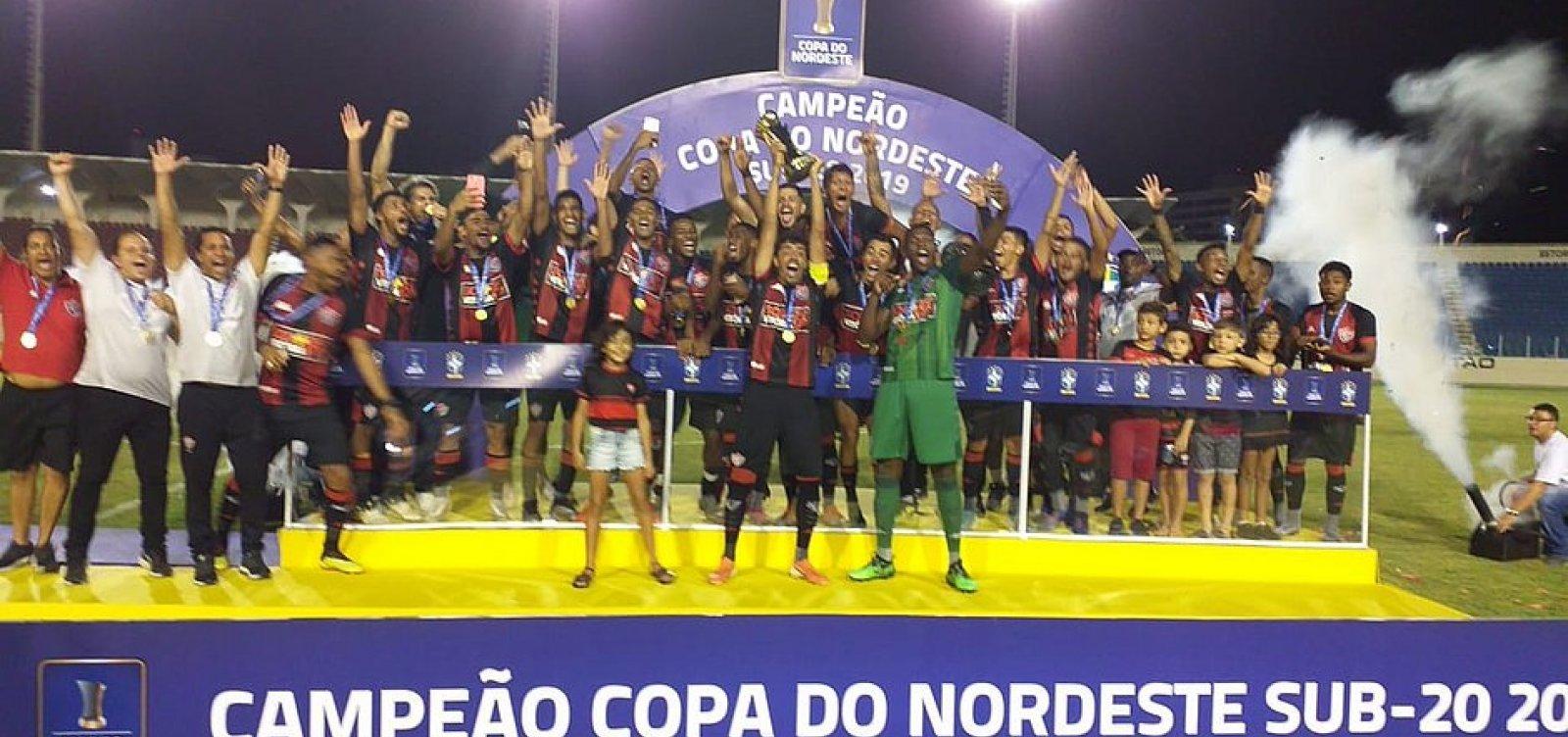 Vitória vence o Ceará e é campeão da Copa do Nordeste sub-20