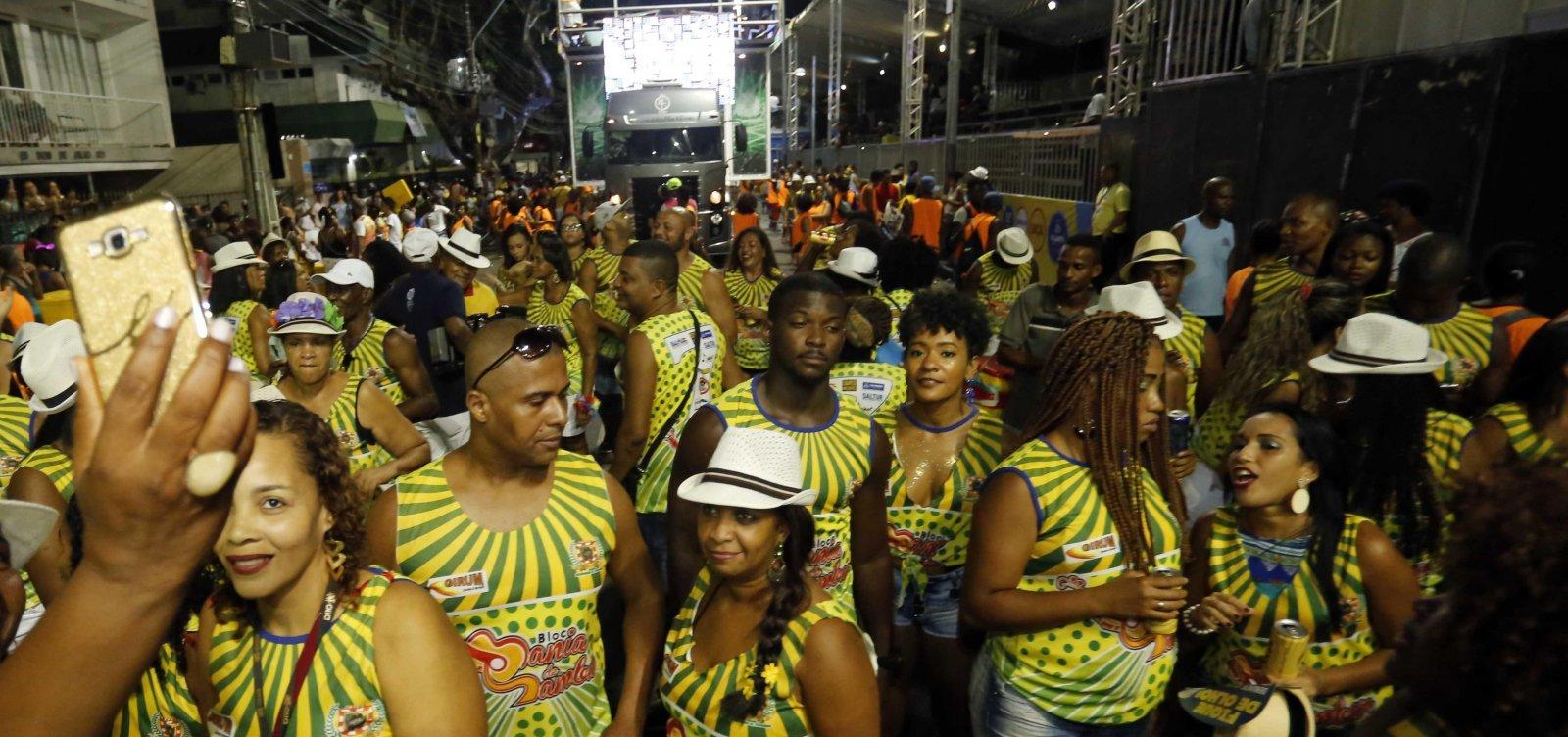 Prefeitura monta esquema especial de trânsito para Caminhada do Samba; confira