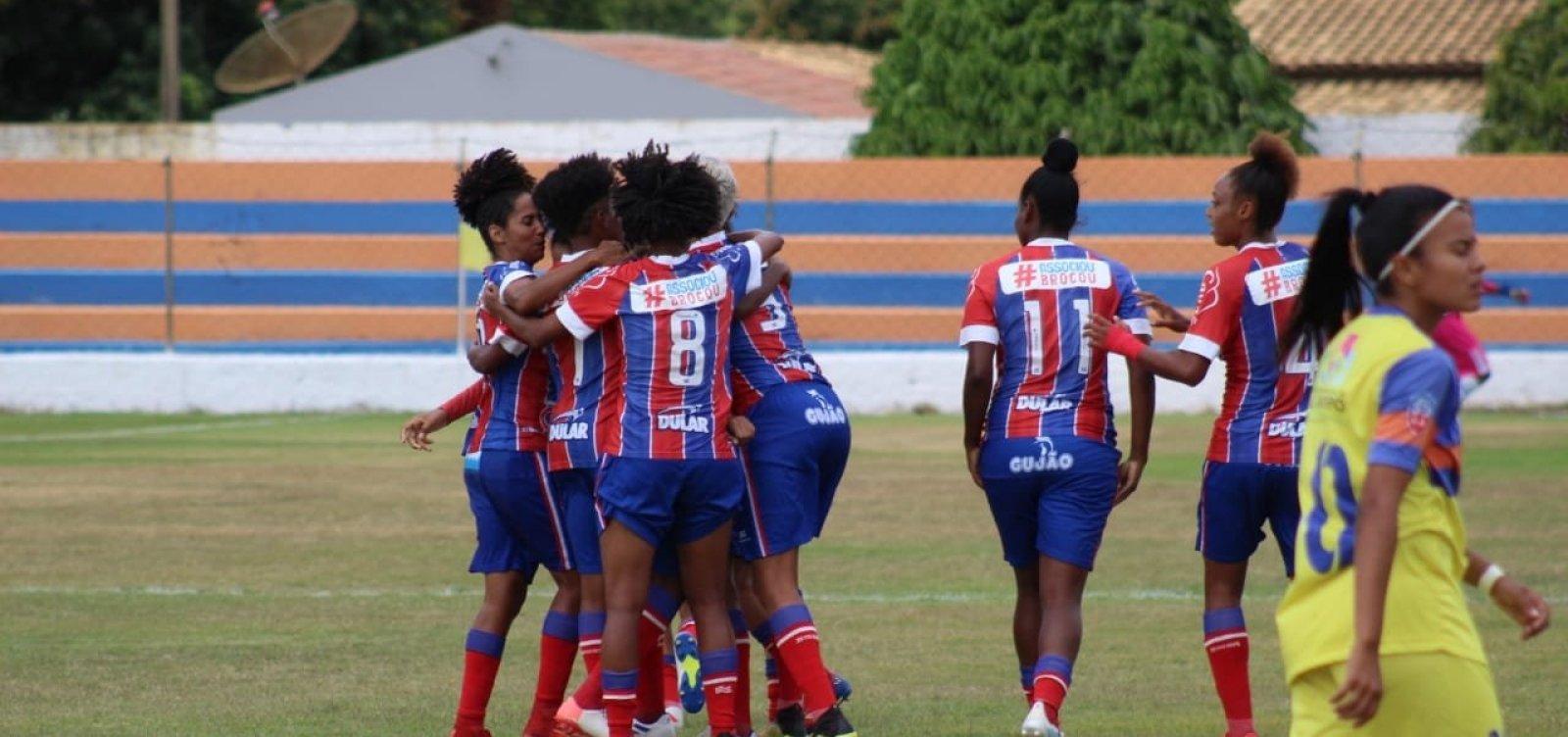 Bahia vence Juventude de goleada e leva Baianão Feminino