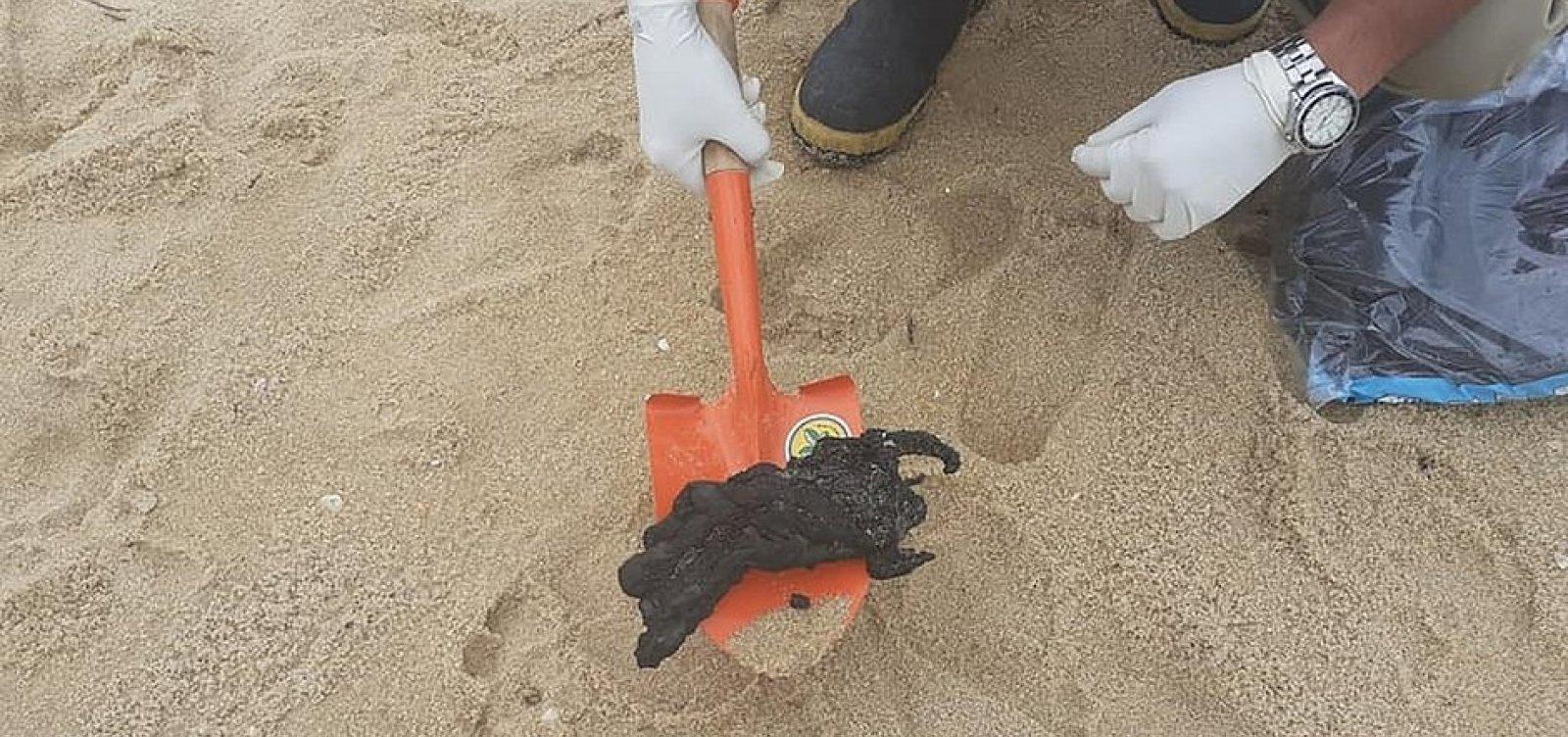 Óleo encontrado em Cabo Frio, no RJ, não é compatível ao identificado no Nordeste e ES