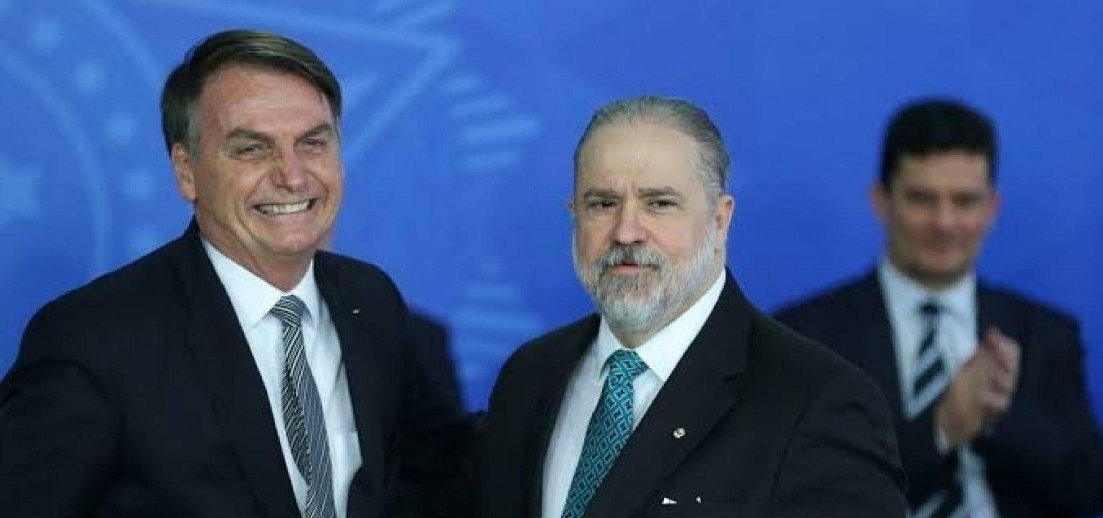 Bolsonaro não cometeu crime ao acessar áudios de portaria, diz Aras