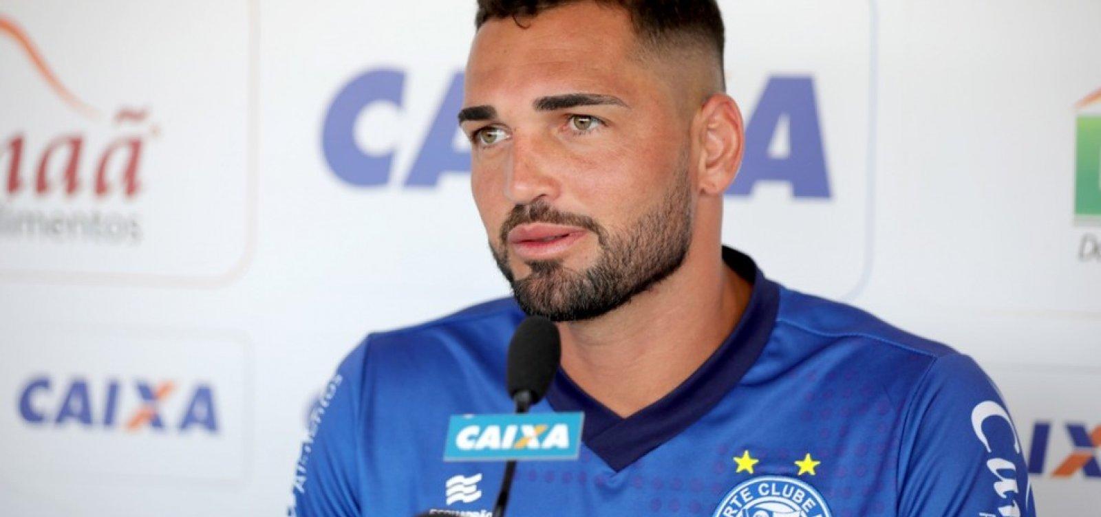 Gilberto elogia elenco após Bahia vencer o CSA: 'Nosso grupo sempre se dedica ao máximo'