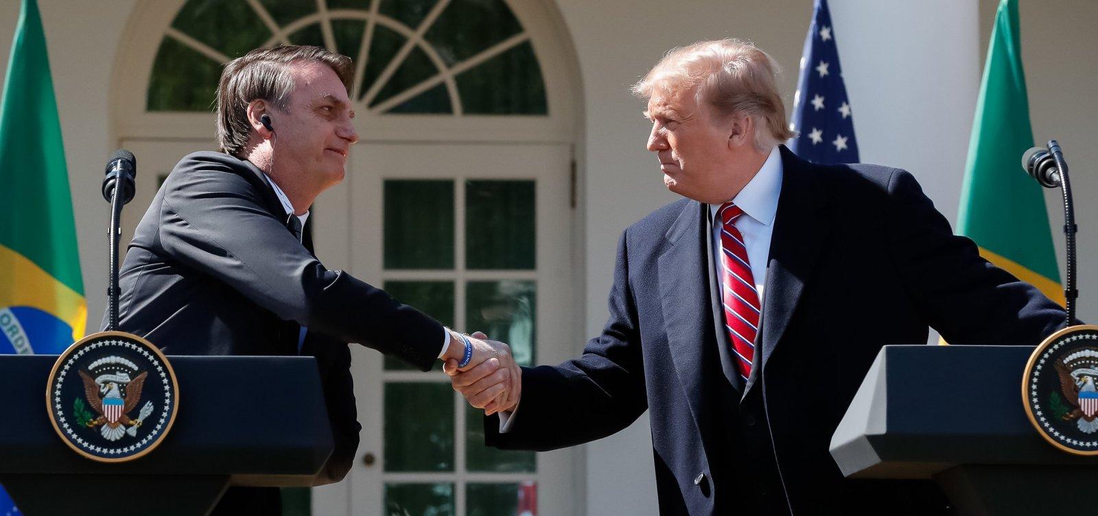 Trump critica Brasil e Argentina por desvalorização de moedas e anuncia retorno de tarifas