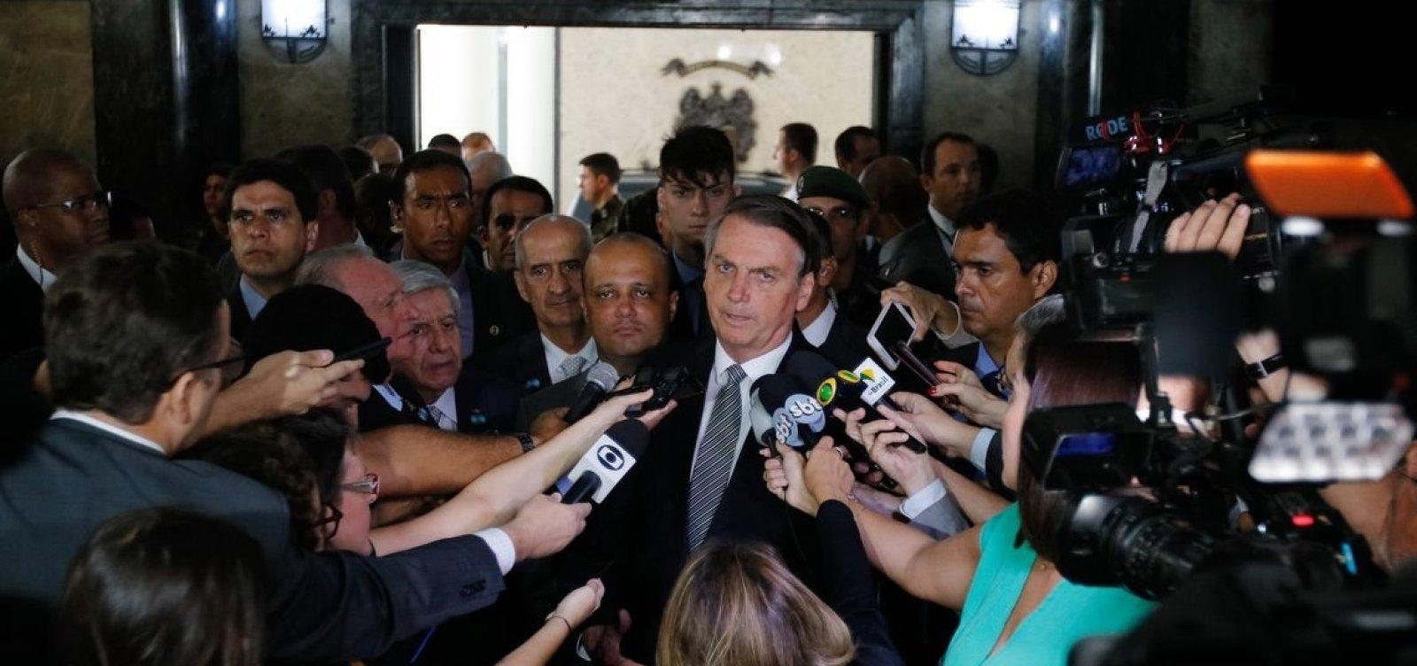 Bolsonaro diz que lamenta a morte de inocentes em baile funk em Paraisópolis