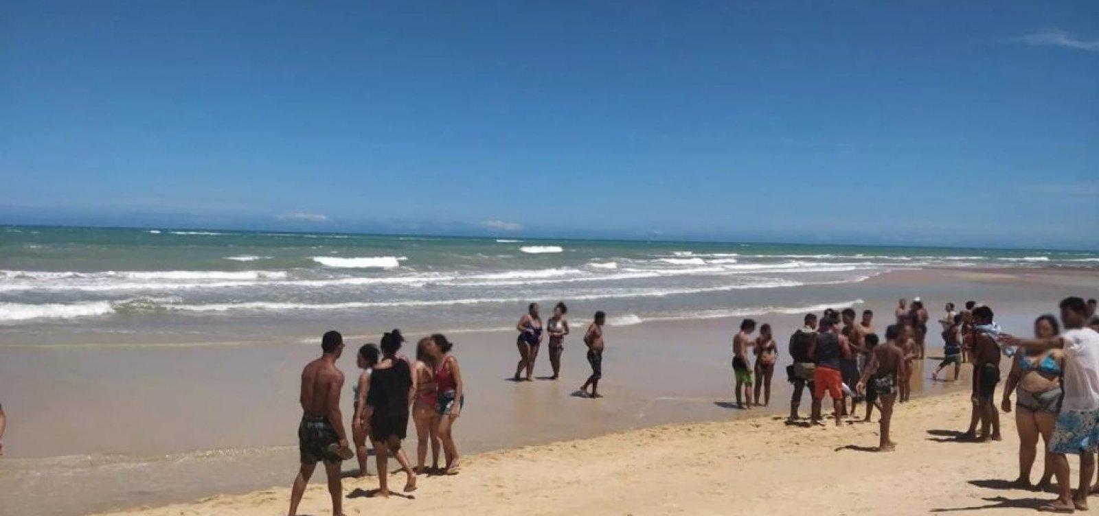 Turista de São Paulo morre após se afogar em praia de Trancoso