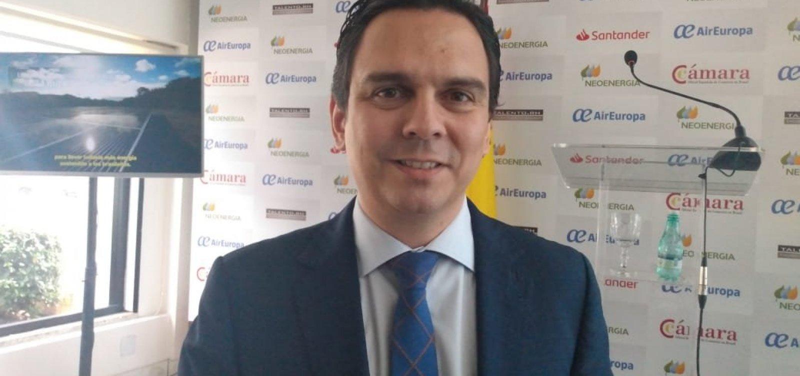Bahia tem muitas oportunidades para negócios, diz diretor da Câmara Espanhola de Comércio