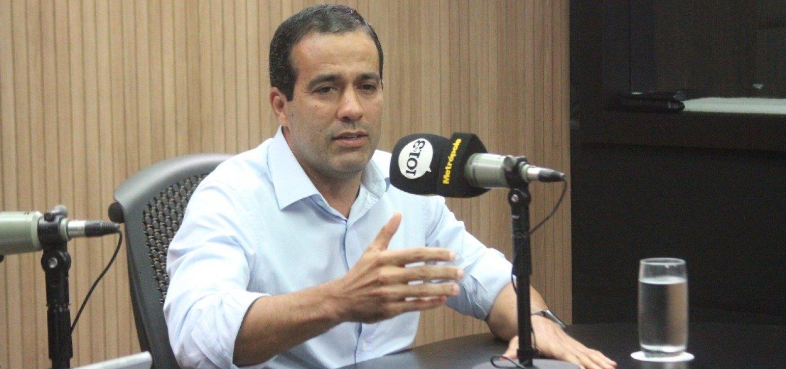 Eleições 2020: 'Não teria dificuldade nenhuma', diz Bruno Reis sobre aceitar a vice