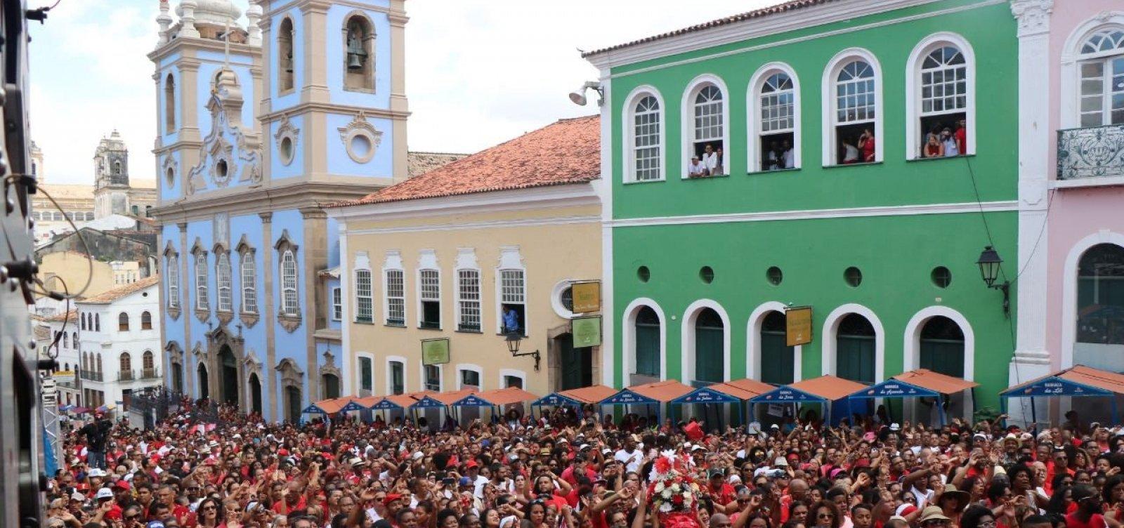 Festa de Santa Bárbara altera tráfego no Centro Histórico; confira