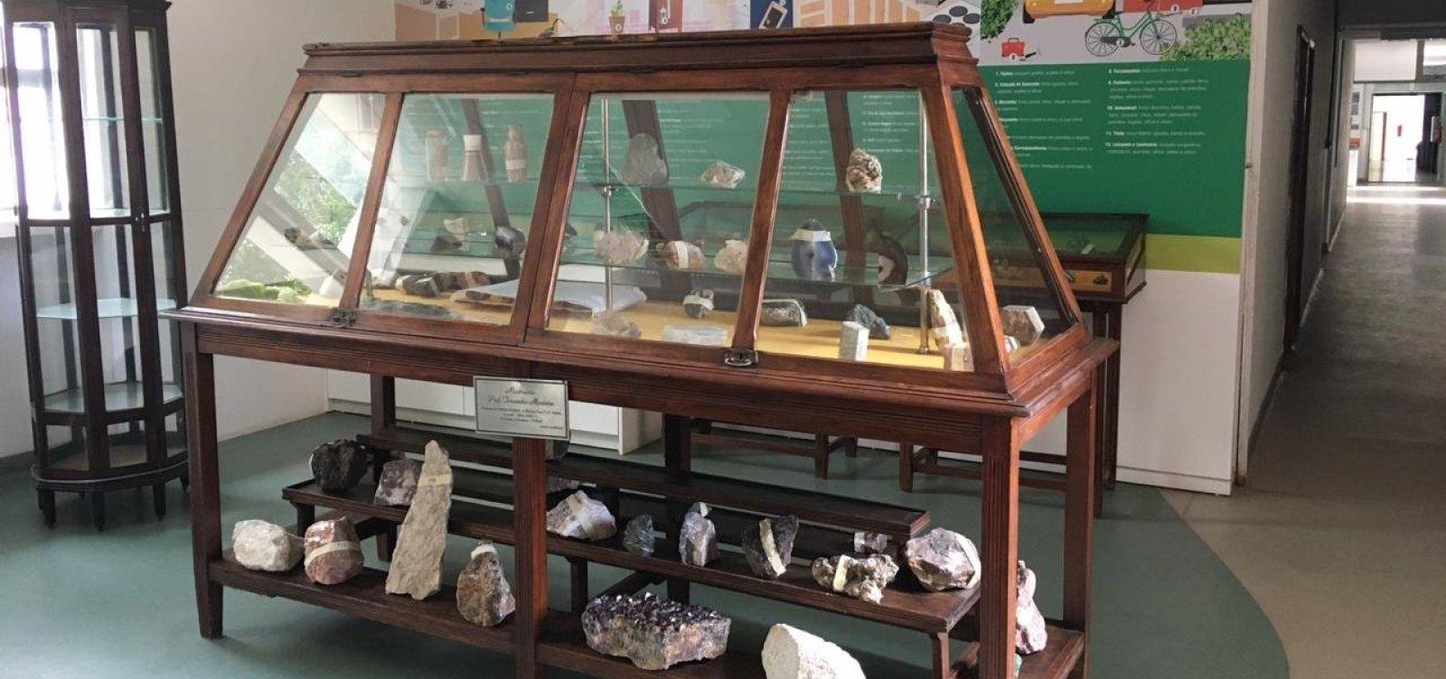Museu de Geociências da Ufba é inaugurado nesta sexta