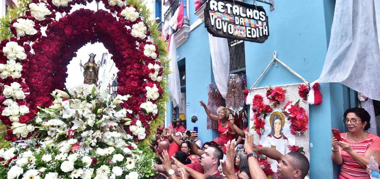 Santa Bárbara: confira programação da festa que reúne devotos em Salvador