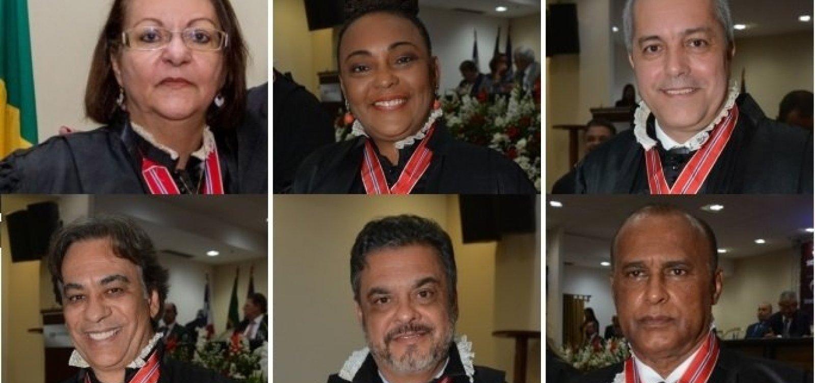 MP-BA indica lista sêxtupla de candidatos à vaga de desembargador