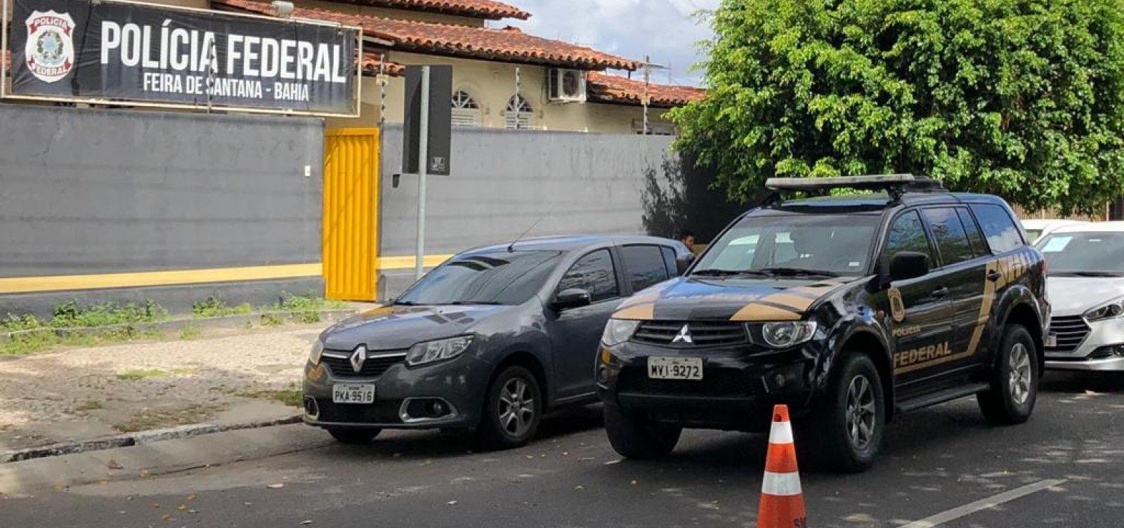 PF desarticula quadrilha especializada em fraudes contra bancos em Feira de Santana