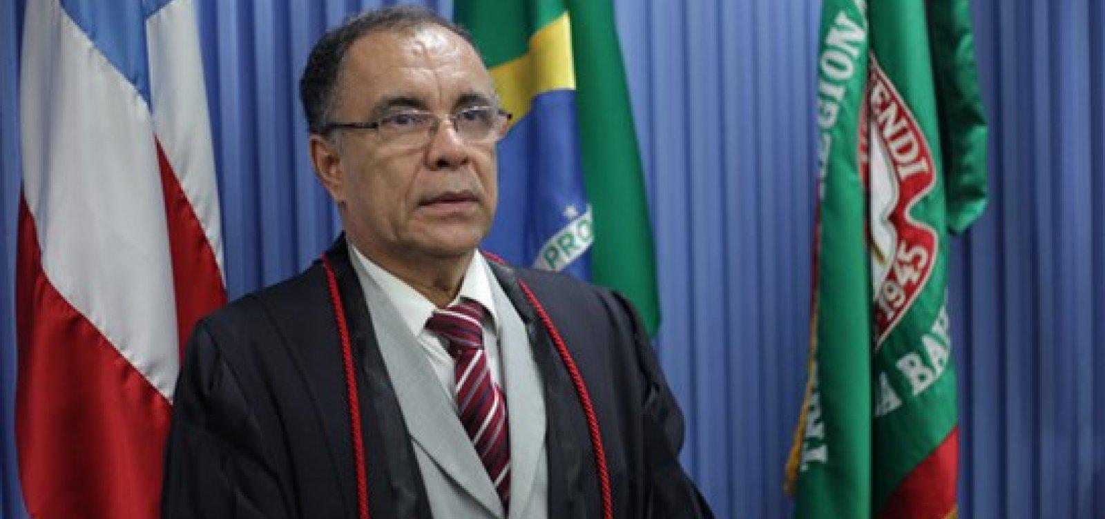 Desembargador Lourival Trindade é eleito presidente do TJ-BA