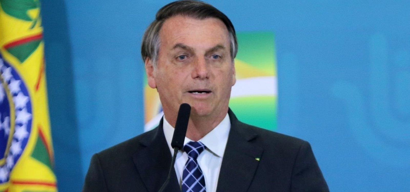 Autorização de Cannabis pela Anvisa vai melhorar tratamento, diz Bolsonaro