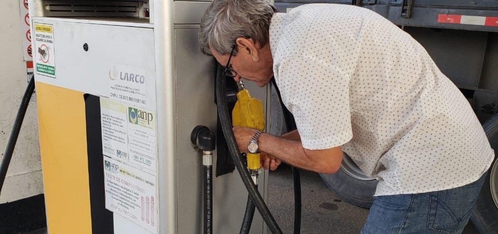 Laudo do DPT encontra 96% de etanol em gasolina vendida em Vitória da Conquista
