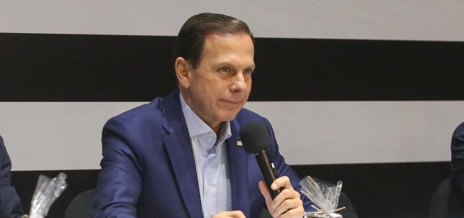 Doria muda o tom e admite rever protocolos da PM após mortes em Paraisópolis