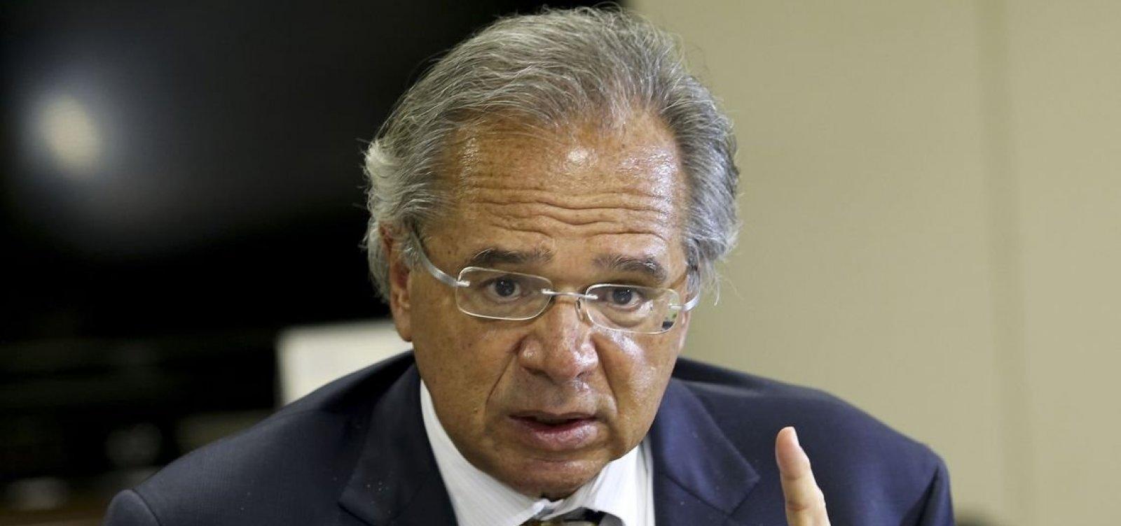 'Despesas de juros vão cair R$ 96 bi em 2020', projeta Paulo Guedes