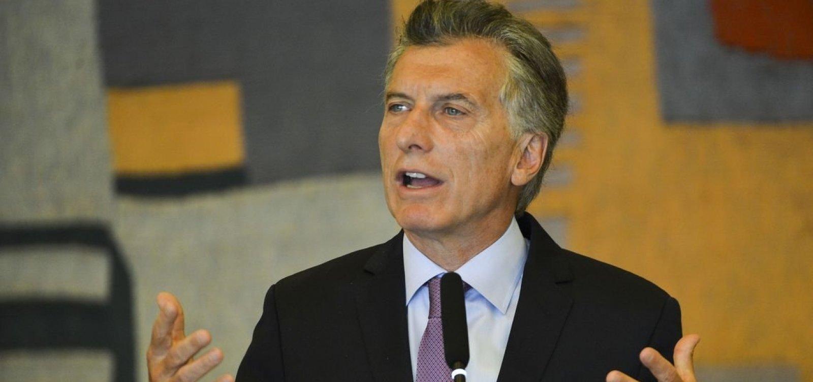 Macri faz balanço de governo cinco dias antes de deixar presidência