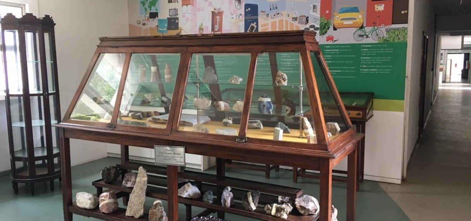 Museu de Geociências é inaugurado no campus de Ondina da UFBA