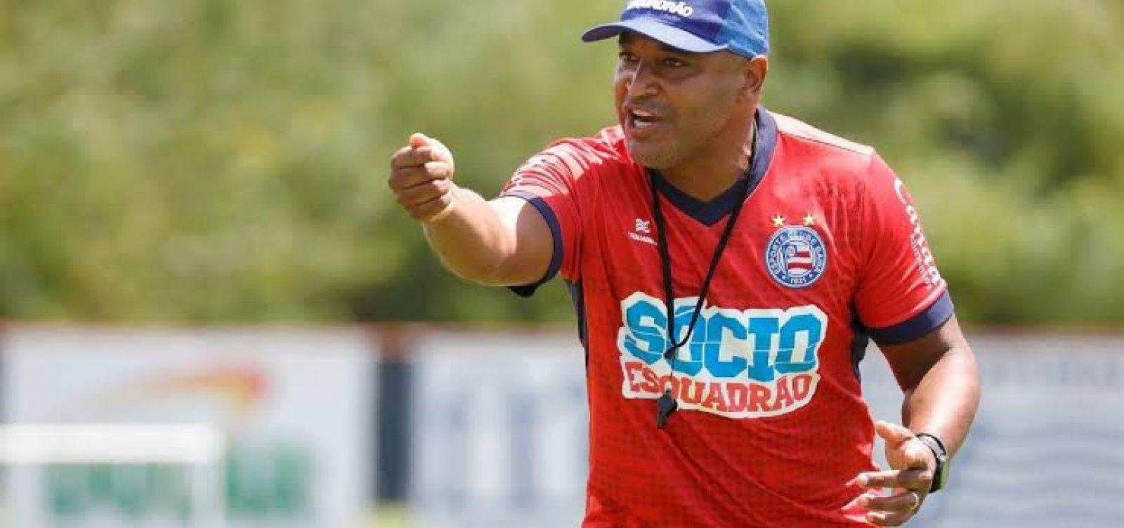 Roger avalia temporada do Bahia: 'Fica um gosto amargo'