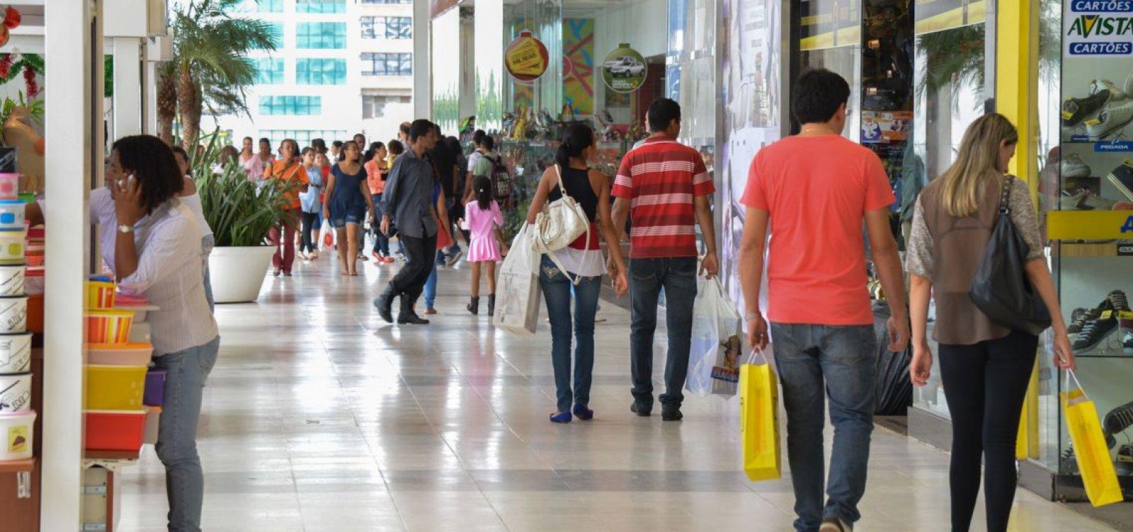 Vendas no mês do Natal devem crescer 3,6% na Bahia, estima Fecomércio