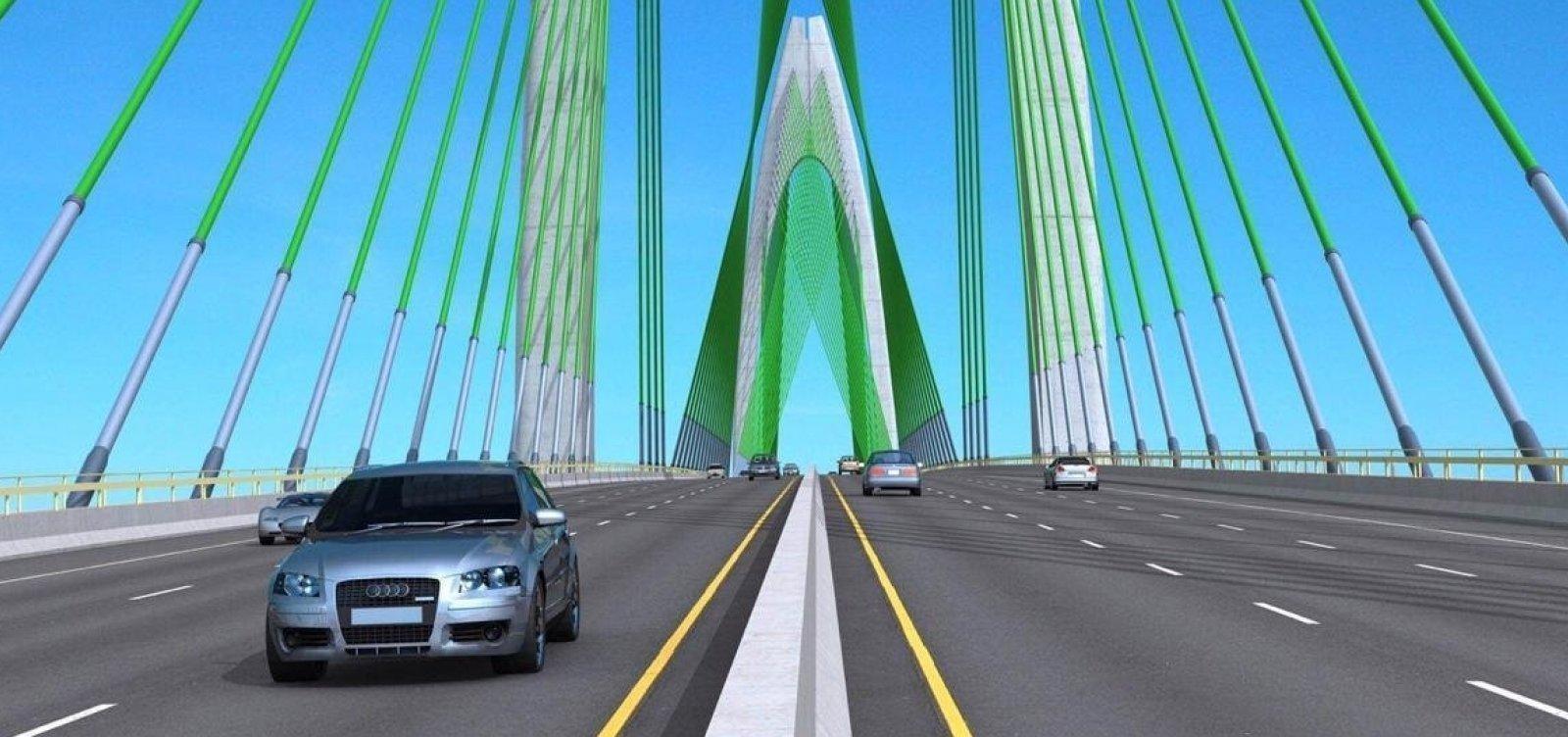 Grupo chinês faz proposta única por Ponte Salvador-Itaparica