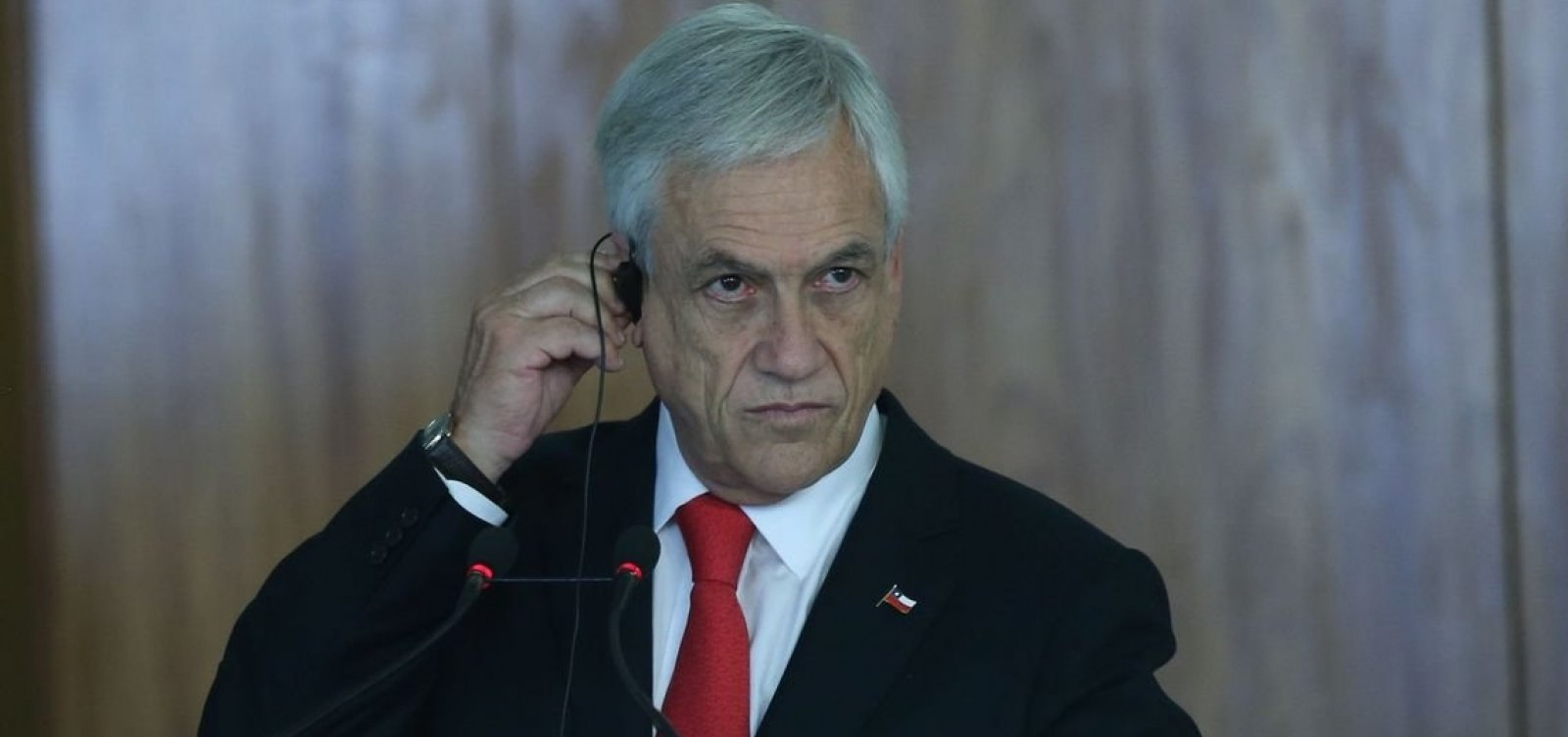 Piñera anuncia plano de recuperação ocular após protestos no Chile