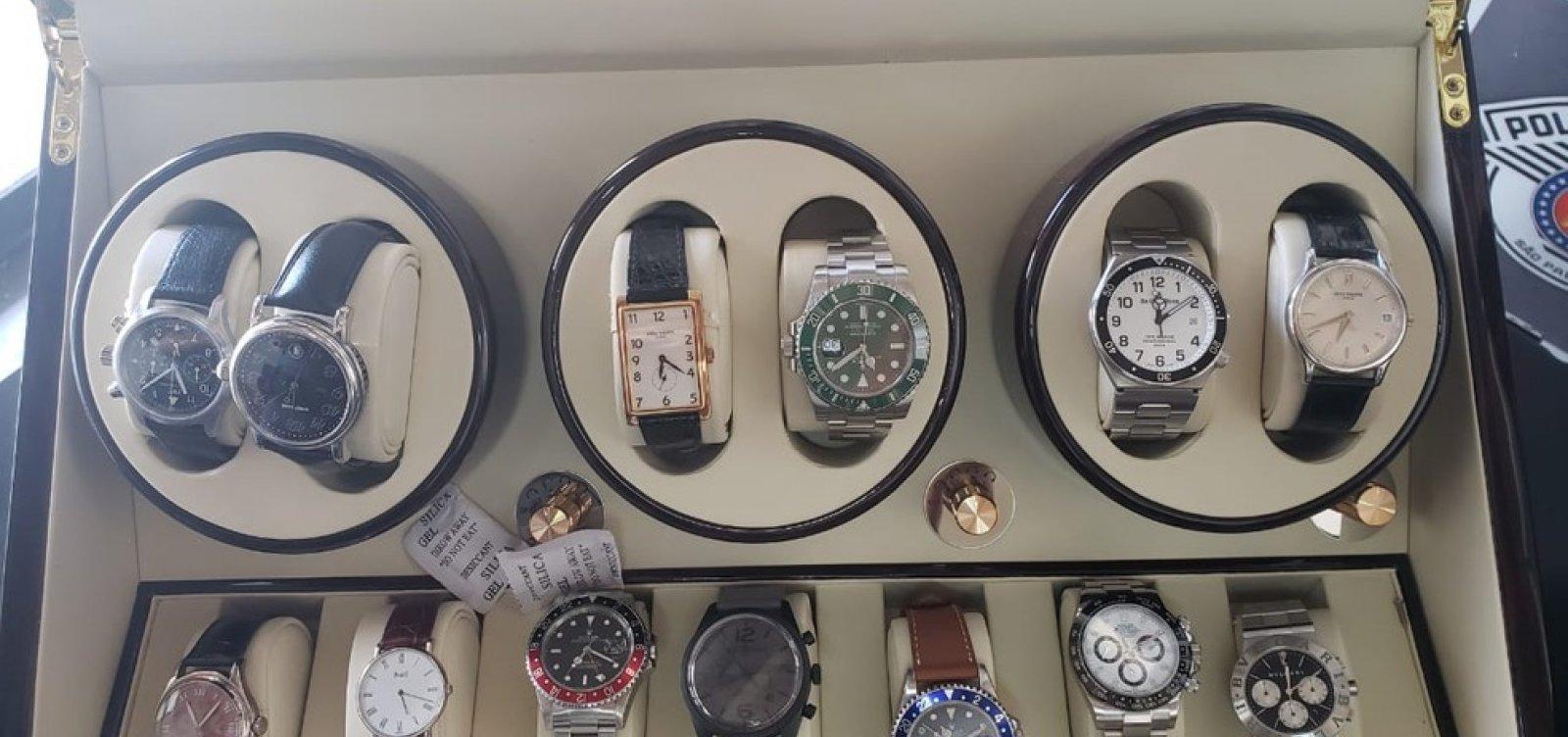Operação Palhares: Juiz manda Caixa guardar relógios Rolex de investigados presos