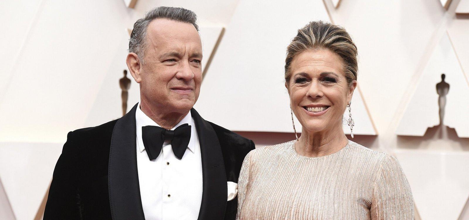 Após isolamento por coronavírus, Tom Hanks e esposa recebem alta