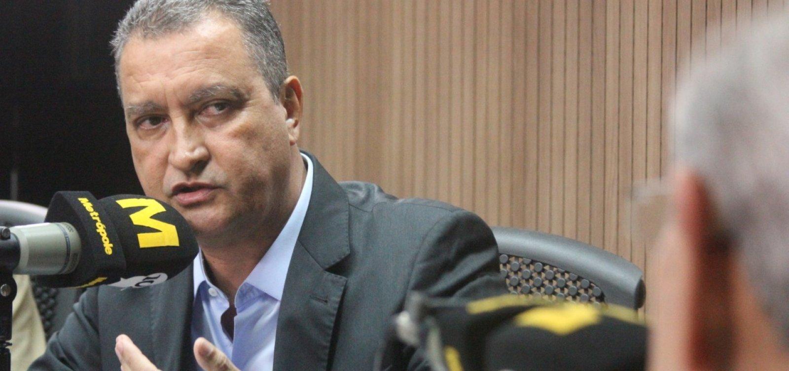 Governo vai pedir à Justiça garantia da medição de temperatura em aeroporto, diz Rui