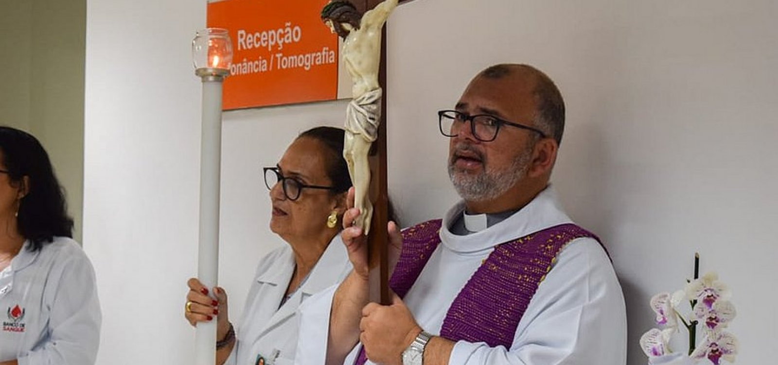 Capelão do Hospital São Rafael testa positivo para Covid-19
