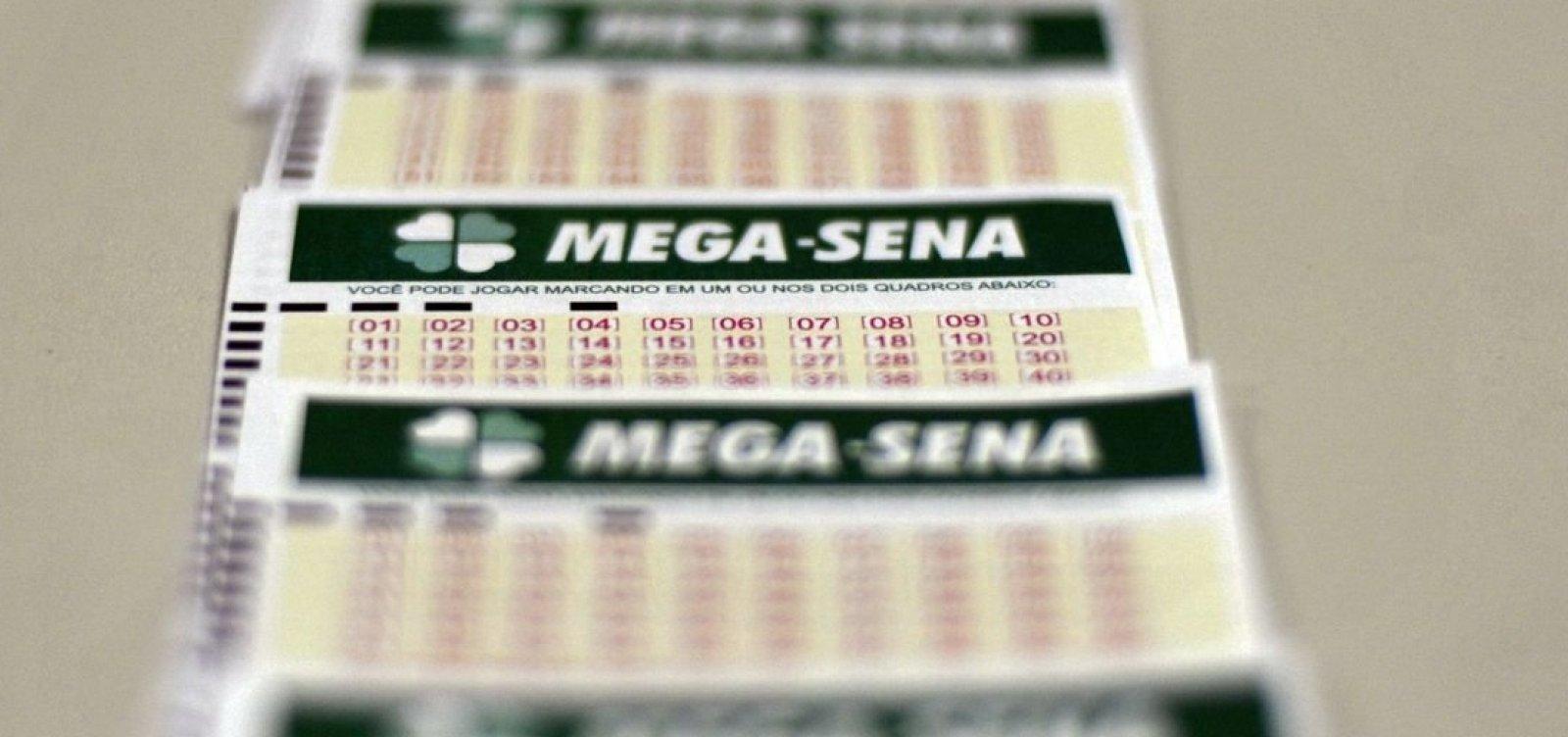 Mega-Sena acumula e próximo sorteio pode pagar R$ 100 milhões