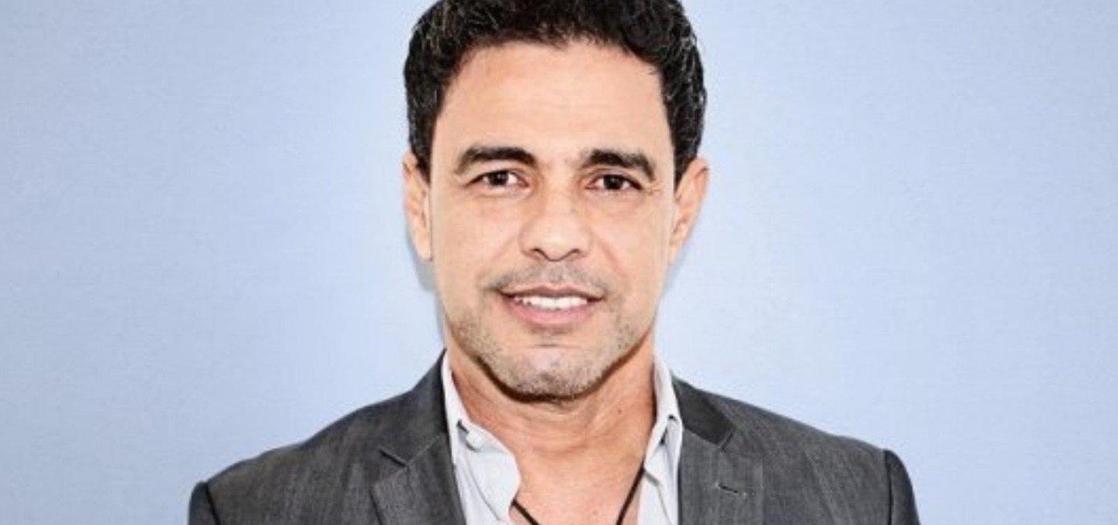 Zezé di Camargo se desculpa após chamar fã de 'idiota' nas redes sociais