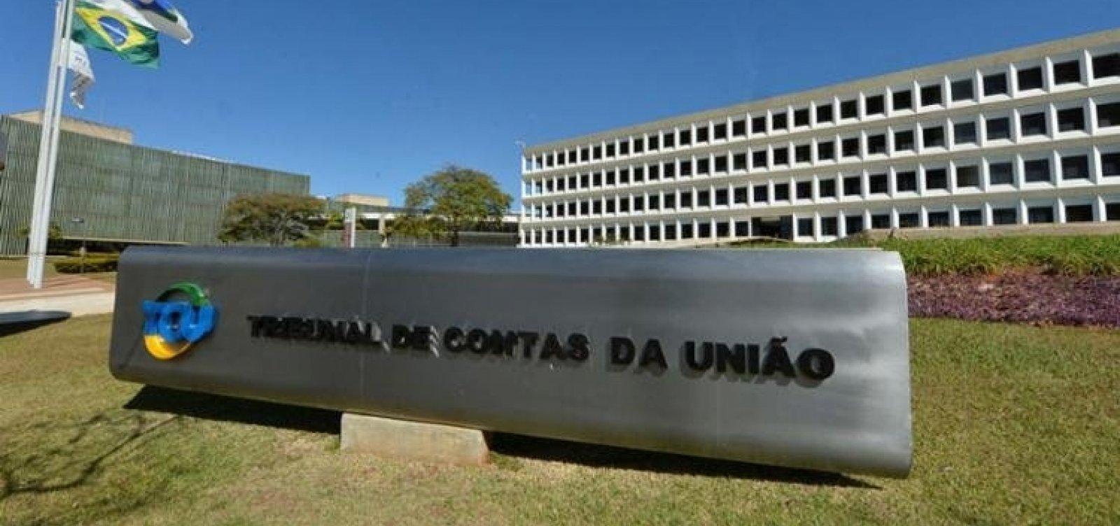 TCU vê indícios de fraude em contratos do governo que somam R$ 500 milhões
