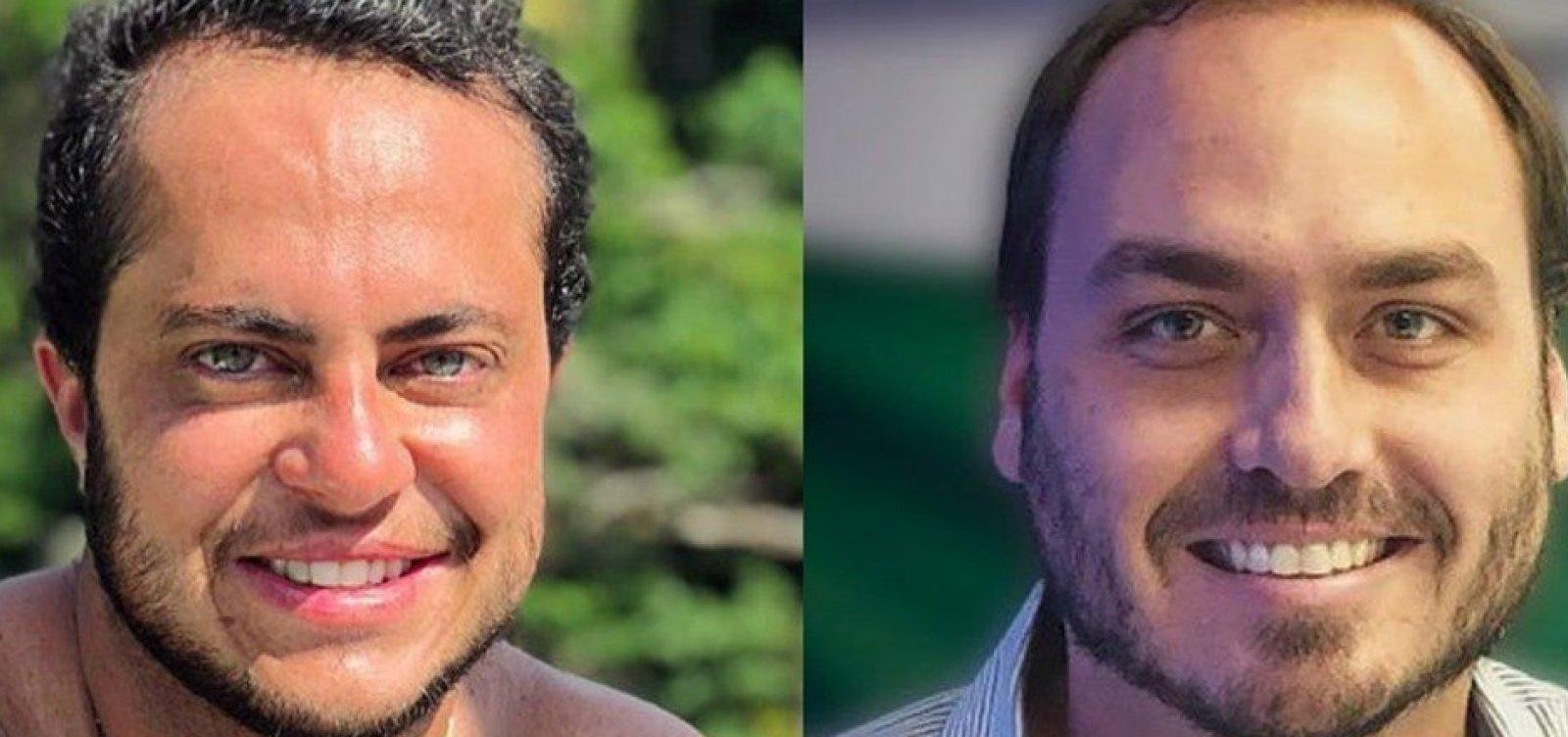 'Carlos Bolsonaro tem amor enrustido por mim', diz Thammy Miranda