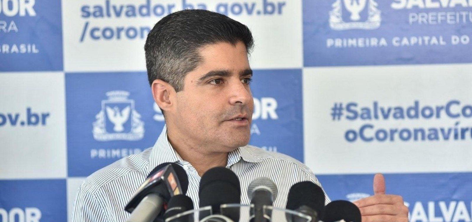 Coronavírus: ACM Neto diz que é possível que Salvador mantenha platô por três semanas
