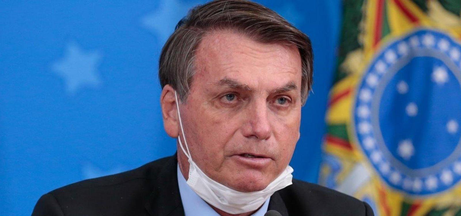 Presidente Jair Bolsonaro está com sintomas de Covid-19, diz CNN