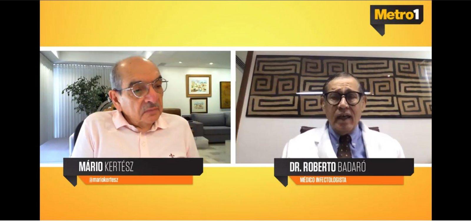 Badaró alerta para segunda onda de Covid-19 e elogia iniciativa estadual