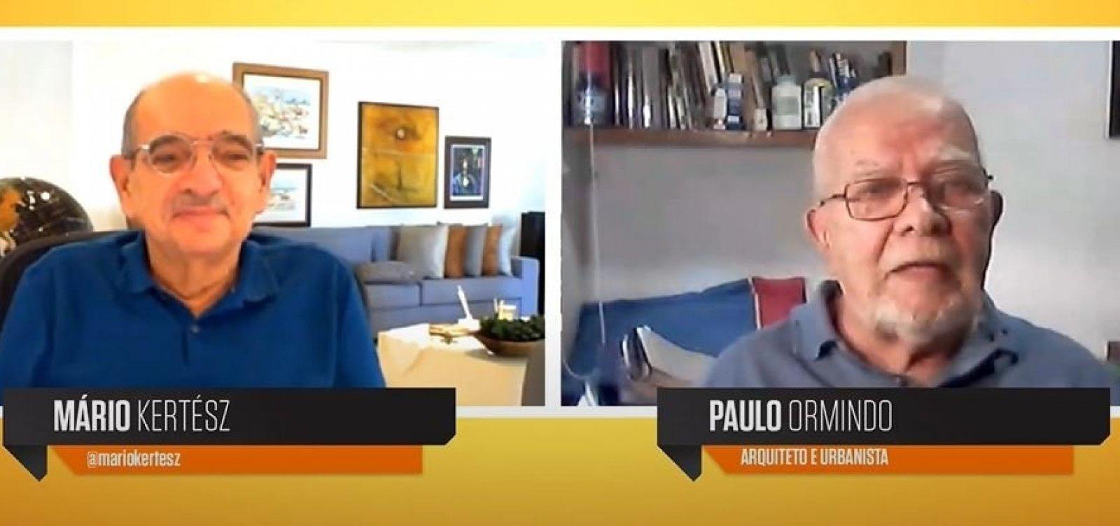 Paulo Ormindo reúne coletânea em novo blog: 'Retrato da cidade e das políticas'
