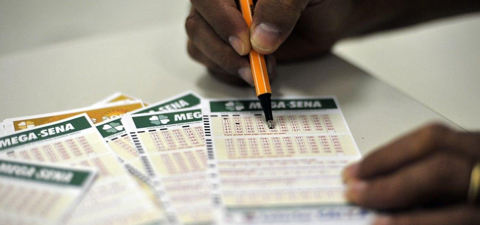 Mega-Sena sorteia prêmio estimado em R$ 40 milhões neste sábado