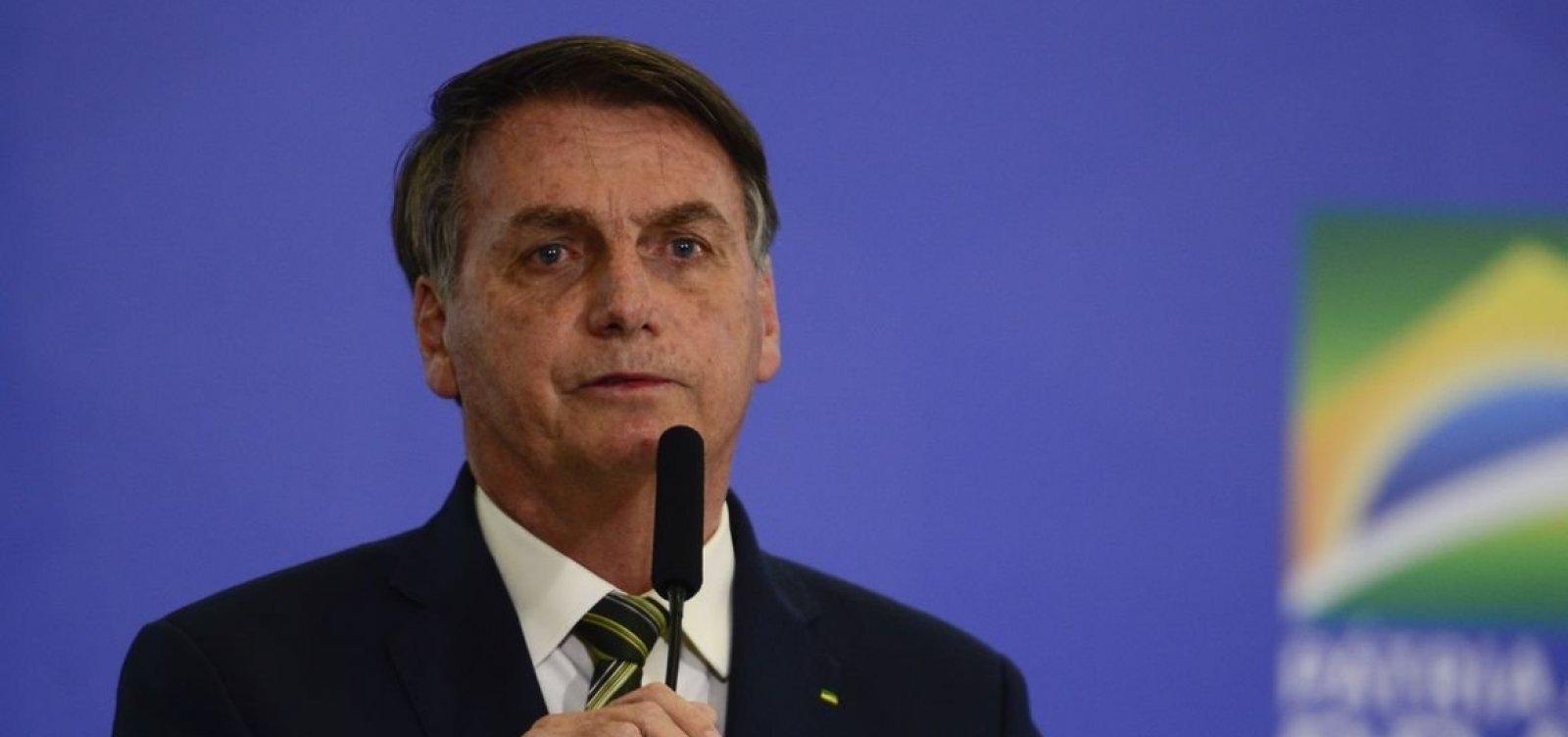 Bolsonaro destaca repasse de recursos para saúde em meio a pandemia