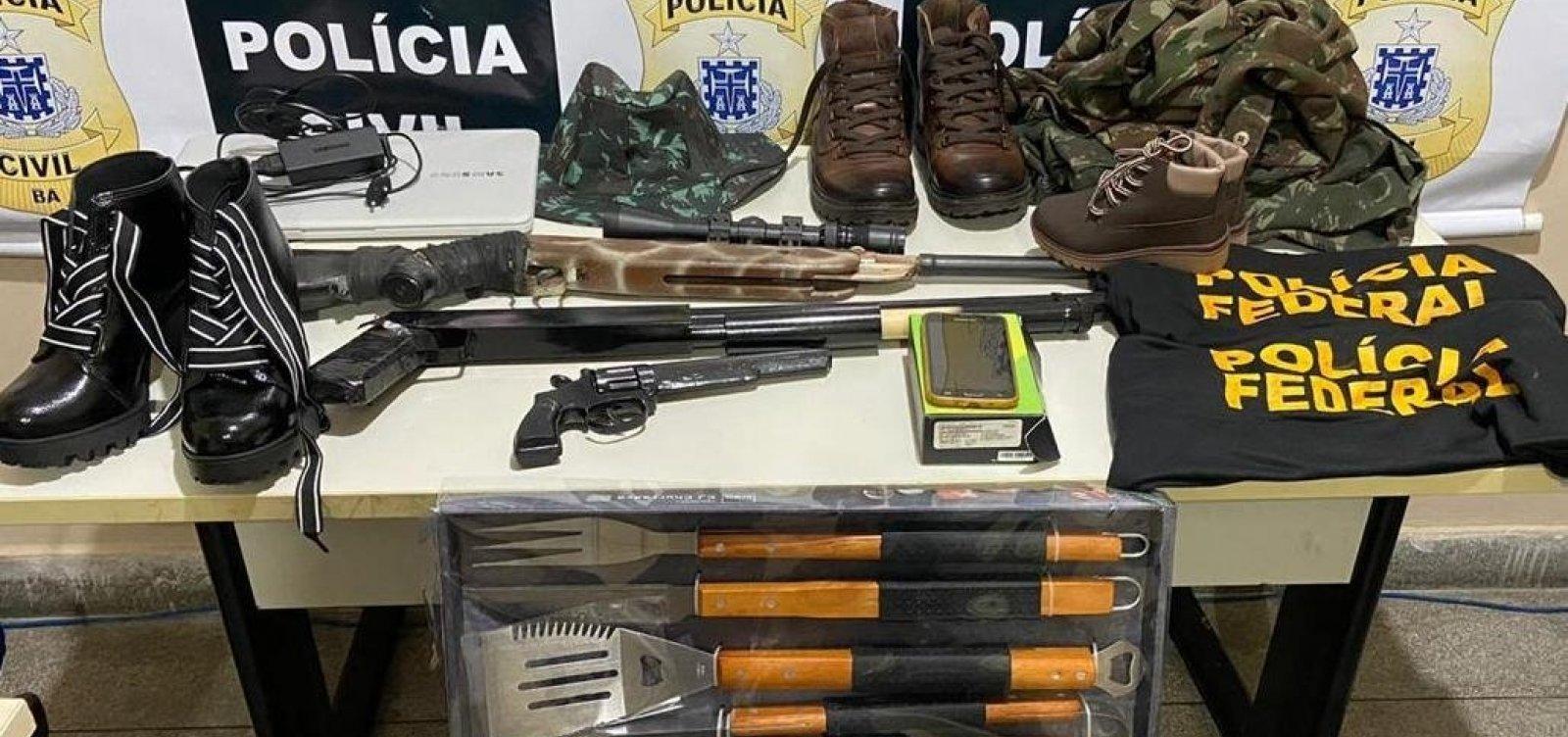 Falso delegado da Polícia Federal é preso em Paulo Afonso