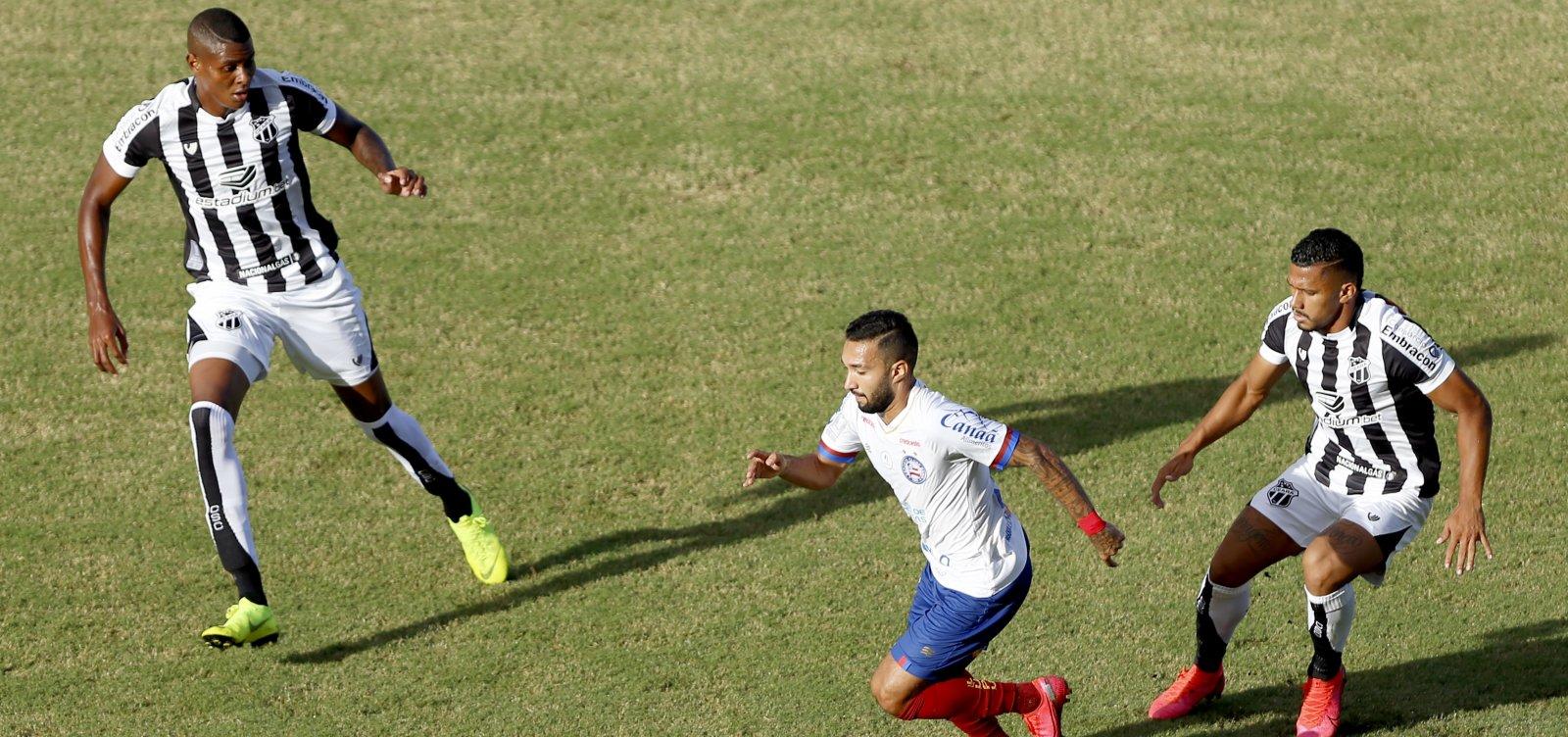 Bahia perde por 3 a 1 para o Ceará e fica em desvantagem na final do Nordestão