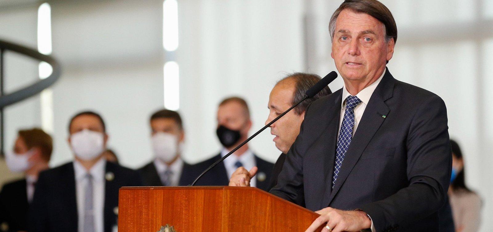 'Não vi no mundo quem enfrentou a pandemia melhor do que nosso governo', diz Bolsonaro
