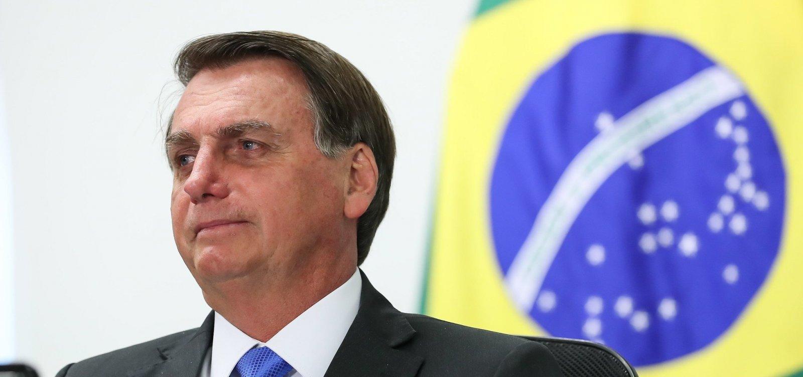 Sem desfile de 7 de Setembro, Bolsonaro participa de cerimônia e faz pronunciamento