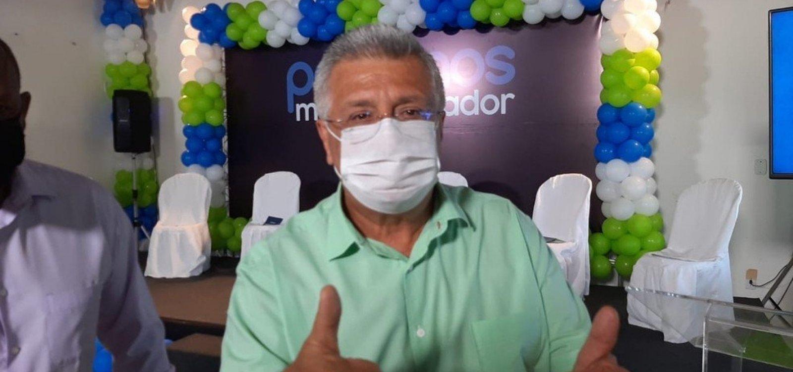 Podemos oficializa candidatura de Bacelar a prefeito de Salvador
