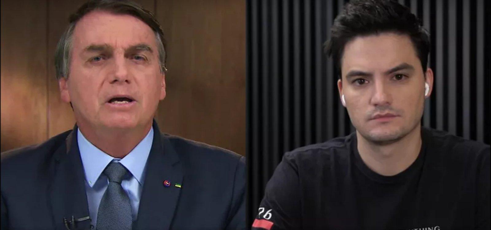 Revista Time inclui Felipe Neto e Bolsonaro na lista de 100 mais influentes do mundo