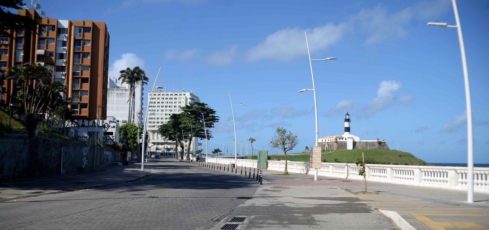 Em agosto, Bahia registrou 3º maior índice de isolamento social do país, diz IBGE