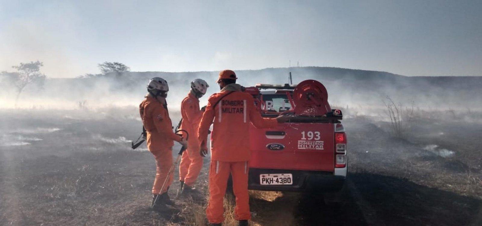 Mais aeronaves são enviadas para ajudar no combate a incêndio no oeste da Bahia